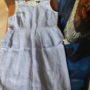 J Crew Blue Dress